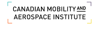 English Logo for the Canadian Mobility and Aerospace Institute